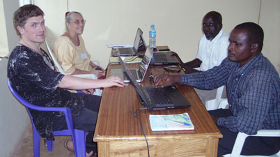 Checking Amos in Jos (June 2011)